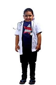 doctor community helper fancy dress costume for kids at glowroad
