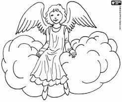angel color pages christmas angels coloring pages printable games