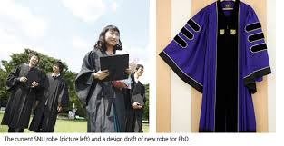 academic robes graduate in style with the new graduation robes news snu