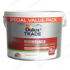 dulux trade weathershield smooth masonry exterior paint 7 5l