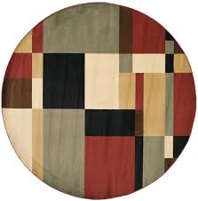 Black Round Area Rugs by Rug Prl6862 9091 Porcello Area Rugs By Safavieh