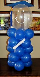 centerpieces for graduation graduation party balloon decoration decorating of party