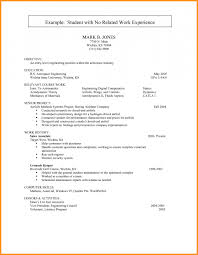 resume with no work experience 9 how to write work experience in cv pandora squared