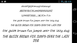 flipfont apk free fonts for flipfont 50 written apk free personalization