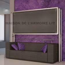armoire lit avec canapé armoire lit superposée marion avec canapé sur dépôt direct usine