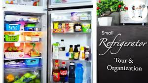 how to organize a fridge ideas to organize a small fridge youtube
