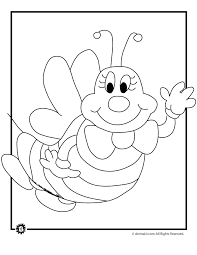 Bumble Bee Coloring Page Woo Jr Kids Activities Bumblebee Coloring Pages