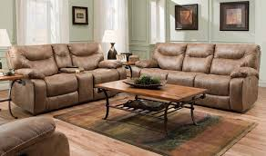Leather Reclining Sofa With Console perfect figure leather sofa in phoenix charming serta sofa bed