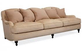 canapé classique en tissu 3 places marron lancaster