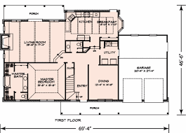 craftsman style house floor plans craftsman style house plan 3 beds 25 baths 2552 sq ft bungalow