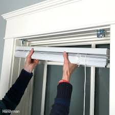 Installing Vertical Blinds Inside Mount Window Blinds Window Blinds Installation Install Home Depot