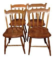 pine arrow back windsor chairs 4 chairish