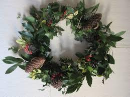 green christmas wreaths becky dunn by hand