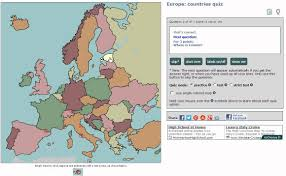 Map Quiz Of Europe by Sample Of European Countries Geography Quiz Using Chrome Browser
