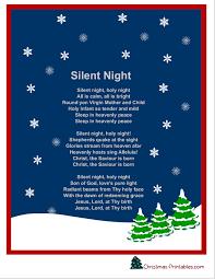 printable lyrics free printable christmas carols and songs lyrics