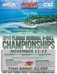 2016 florida regional 8 ball championships
