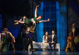 review finding neverland a broadway musical with matthew