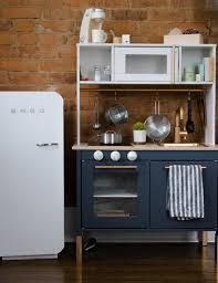 ikea navy blue kitchen cabinets ikea play kitchen 15 duktig hacks apartment therapy
