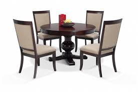 Round Cherry Kitchen Table by Gatsby Round 5 Piece Dining Set With Side Chairs Bob U0027s Discount