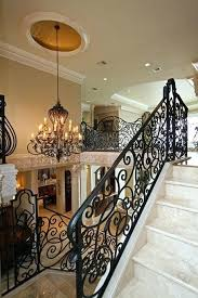 white wrought iron stair railing stairs outstanding rod railings