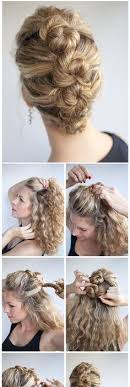 bungees hair 18 updos for curly haired updos curly and