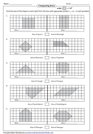 area of irregular shapes worksheet free worksheets library