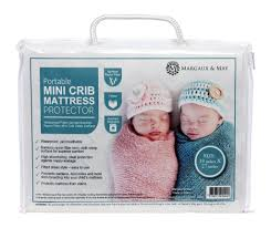 Mini Crib Mattress Cover Margaux May Waterproof Mini Crib Mattress Pad Protector Fits