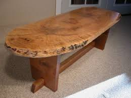 Custom Coffee Tables by Live Edge Coffee Tables Dumond U0027s Custom Furniture