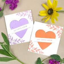 wedding favora plantable seed wedding favors catalog botanical paperworks