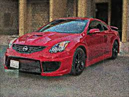 Nissan Altima Coupe Red Interior Custom 2012 Altima Coupe Body Kit Youtube