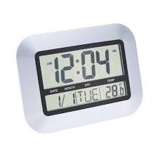 cool digital wall clock temperature 135 ajanta digital wall clock