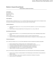 Office Nurse Resume Banking Operations Resume Format Cover Letter Free Sample