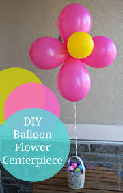 Easter Decorations With Balloons by Diy Balloon Flower Centerpieces