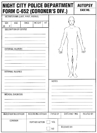 coroner s report template blank coroner s report template professional and high quality