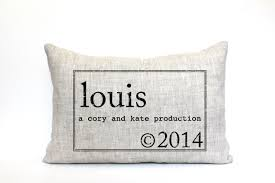 personalized pillows for baby personalized baby pillow production of the featured at