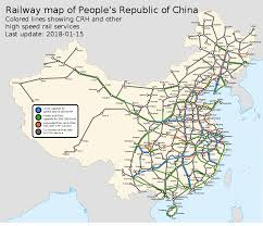 The L Train Map High Speed Rail In China U2013 Travel Guide At Wikivoyage