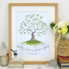 tree guest book entwined fingerprint tree guest book by lillypea event stationery