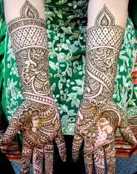 groom marriage mehndi designs for