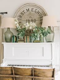 How To Repurpose Piano Benches by Eclectic Home Tour Shades Of Blue Interiors Pianos Display
