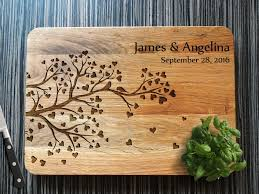 personalised cutting board personalised cutting board tree board wooden cutting boards by a