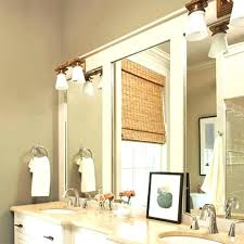 Framing Bathroom Mirrors Diy Oak Framed Bathroom Mirror Jurackainfo Oak Framed Bathroom Mirror