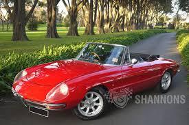 alfa romeo classic spider sold alfa romeo u0027duetto u0027 1600 spider auctions lot 22 shannons