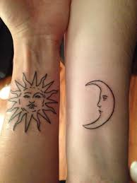 sun and moon matching designs ideas and meaning tattoos