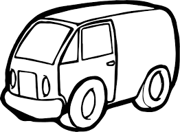 minivan toy car coloring page wecoloringpage