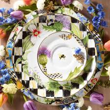 mackenzie childs wedding registry mackenzie childs thistle set the summer table
