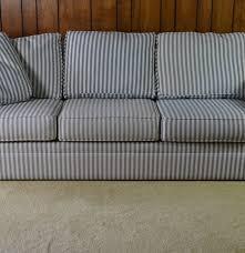 Bauhaus Sectional Sofa by Ticking Stripe Sofa 2 By Bauhaus Ebth