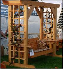 swing arbor plans woodwork grape arbor with swing plans plans pdf download free