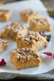 Pumpkin Bars With Crumb Topping Pumpkin Pie Bars Taste And Tell