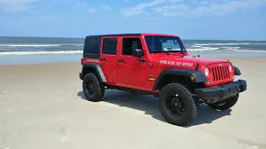 jeep red 2017 our fleet outer banks jeep rentals