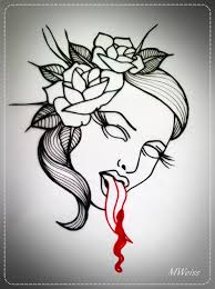 top bleeding rose tattoo images for pinterest tattoos blood